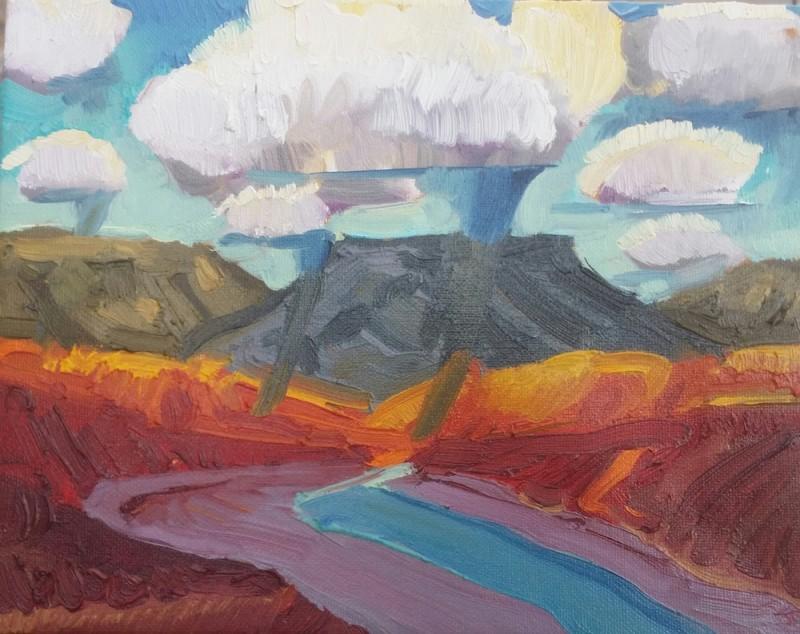 Mateo Romero, Tsi Ping/ Flint Mountain #4