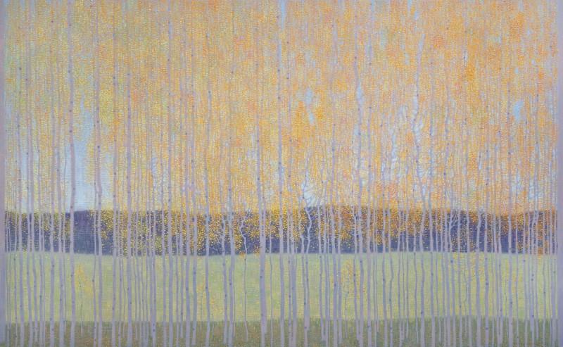 David Grossmann, Fluttering Autumn Leaves, 2021