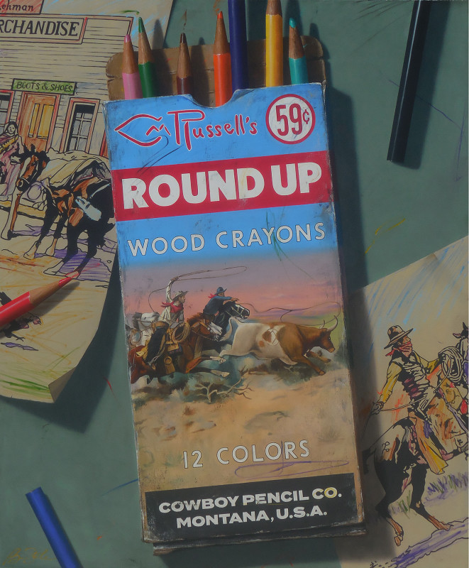 Ben Steele, Russell's Round Up