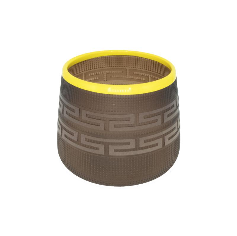 Preston Singletary, Tlingit Berry Basket: #B18-133 Tea/Yellow
