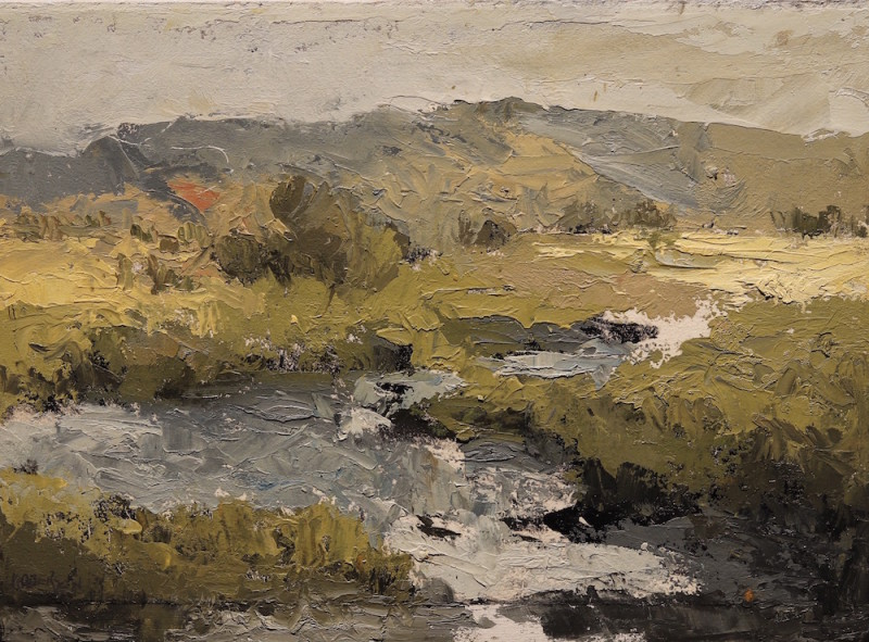 Mary Roberson, High Desert Stream