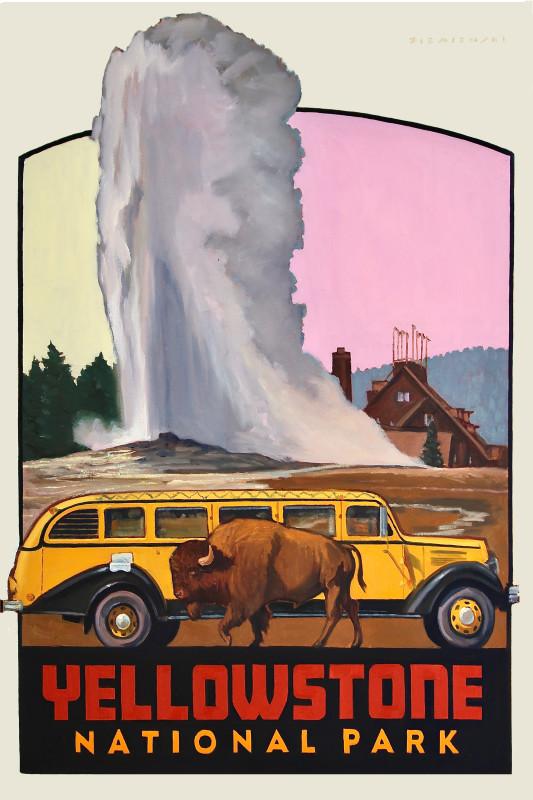 Dennis Ziemienski, Yellowstone Decal