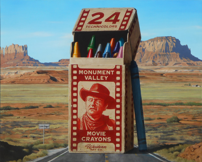 Ben Steele, Monument Valley Movie Crayons