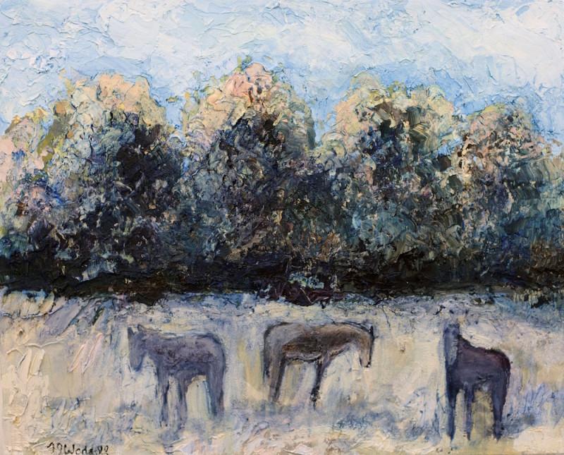 Theodore Waddell, Aspen Horses #5