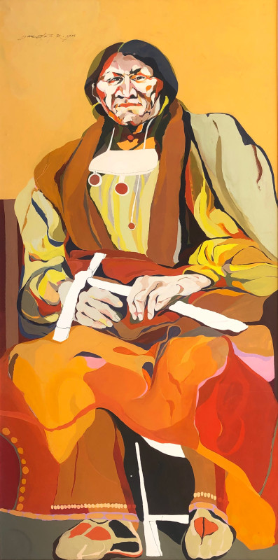 Sari Staggs, The Wise One, 1976