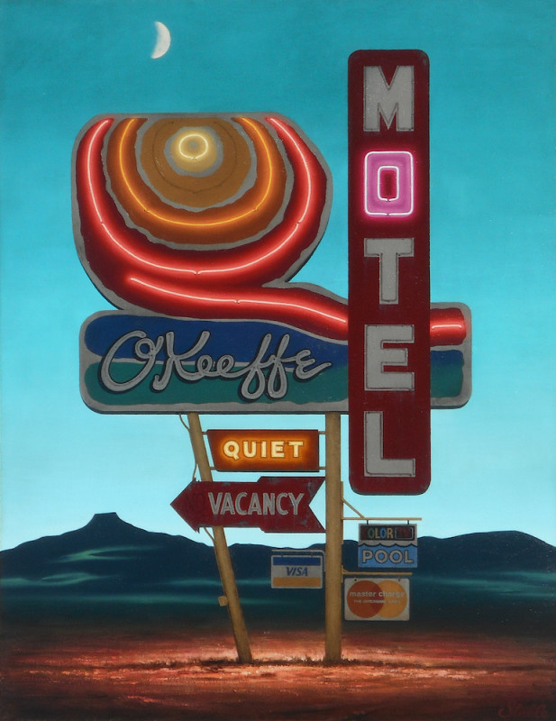 Ben Steele, O'Keefe Motel