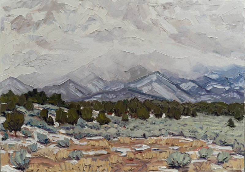 Jivan Lee, Winter Above the Valley