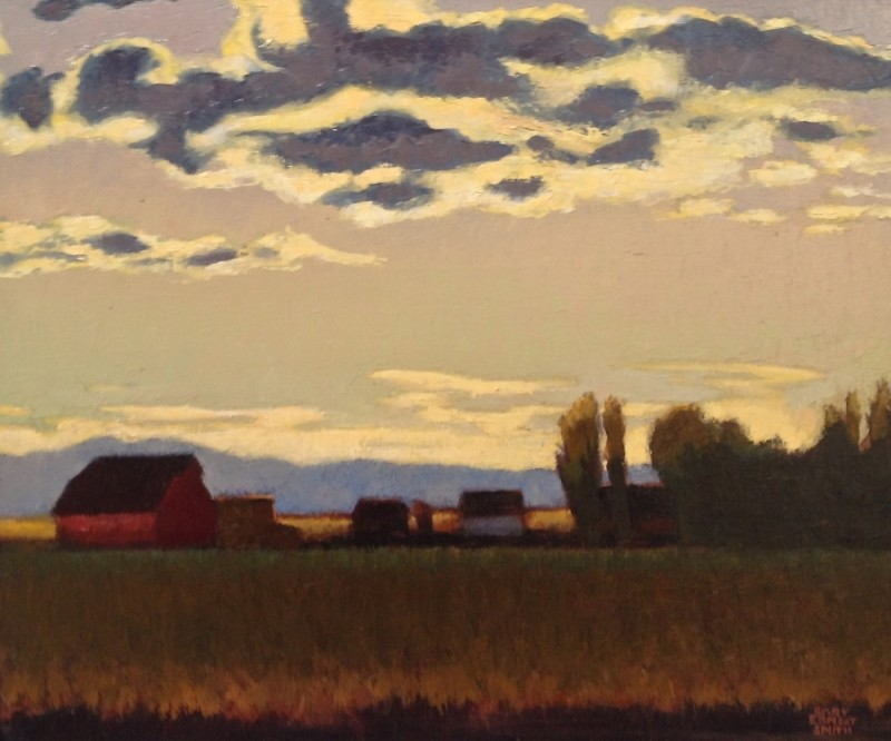 Gary Ernest Smith, Wyoming Evening