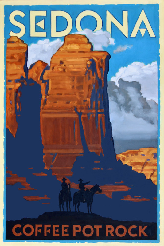 Dennis Ziemienski - Sedona Coffee Pot Rock