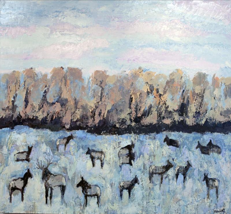 Theodore Waddell, Cottonwood Elk #4