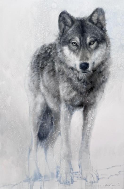 David Frederick Riley, Grey in Blue