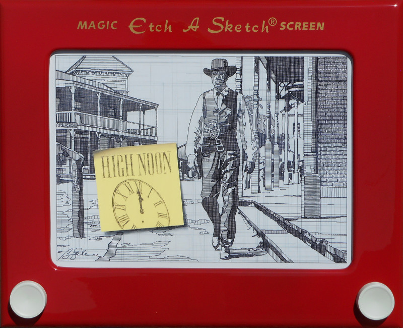 Ben Steele, Drawing at High Noon