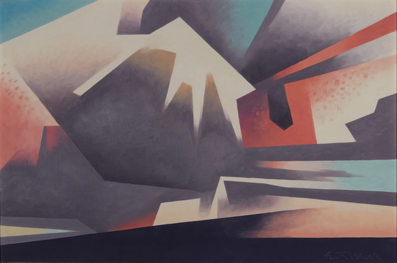 Ed Mell, Bent Sky, 1987