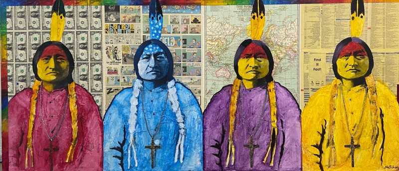 Stan Natchez, Sitting Bull, Four Powers of the World