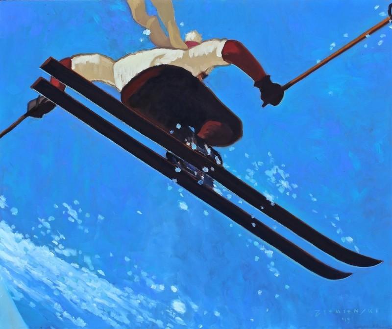 Dennis Ziemienski, Ski Jump