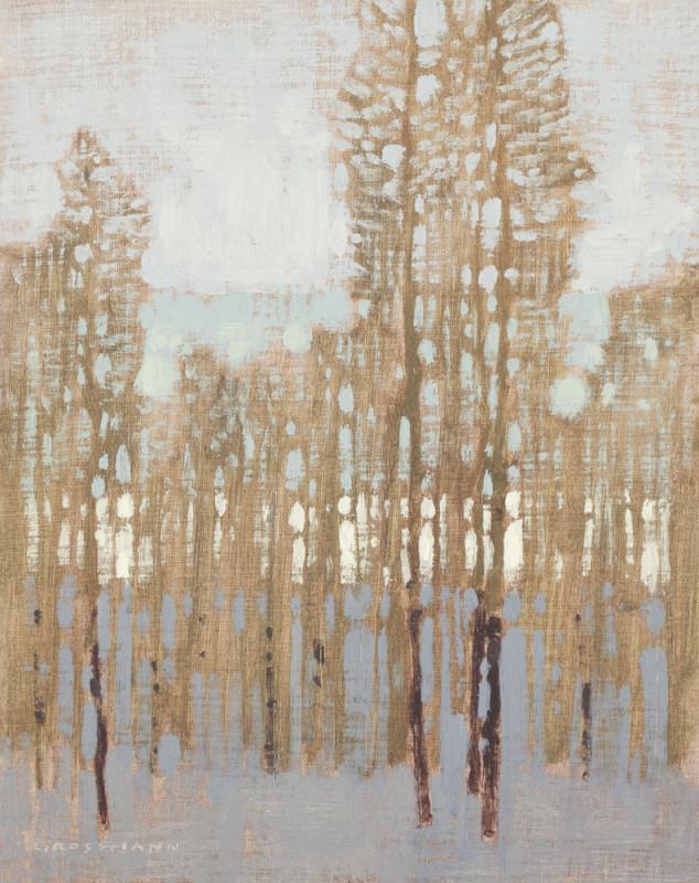 David Grossmann, Through the Winter Trees, Study