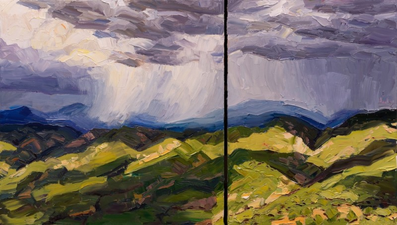 Jivan Lee, Circle Drive #3 - Mountain Squalls, Valley Light