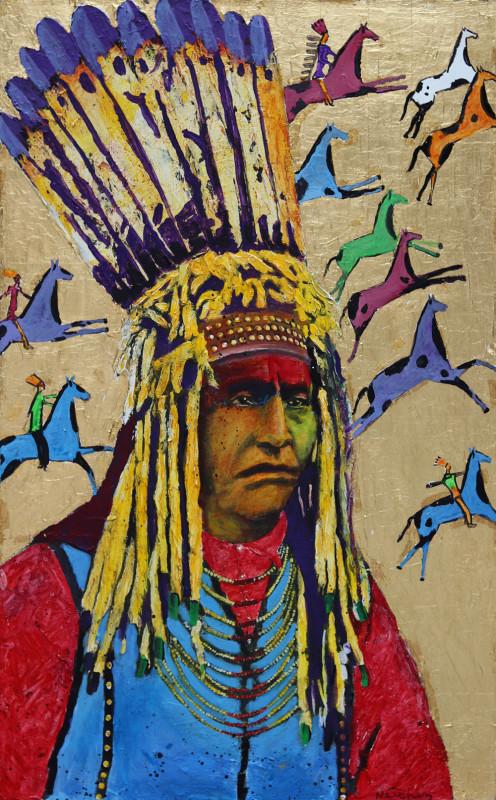 Stan Natchez, Blackfoot Long Horn Society