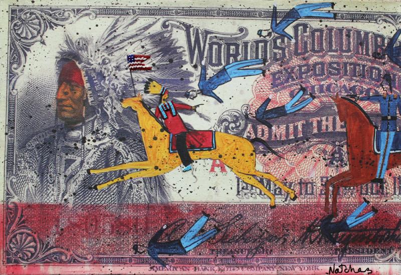 Stan Natchez, World Columbian (Beadwork)