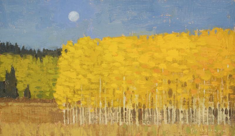David Grossmann, Autumn Morning Patches, Study