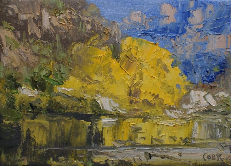 James Pringle Cook, Sabino Creek Study