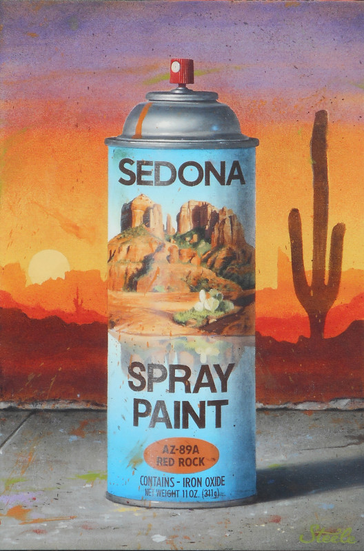 Ben Steele, Sedona Spray Paint