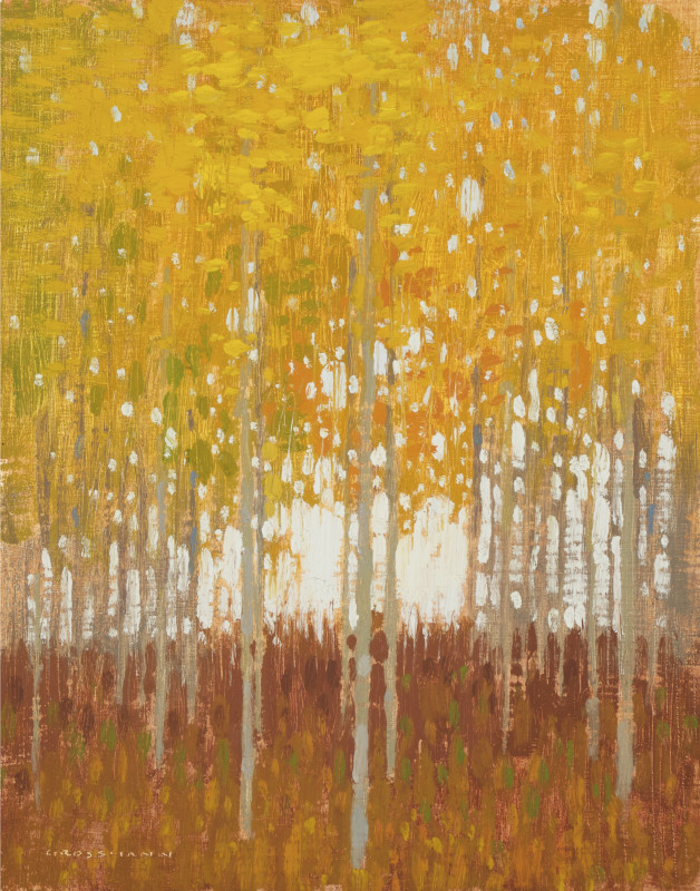 David Grossmann, Sky Patches and Yellow Leaves