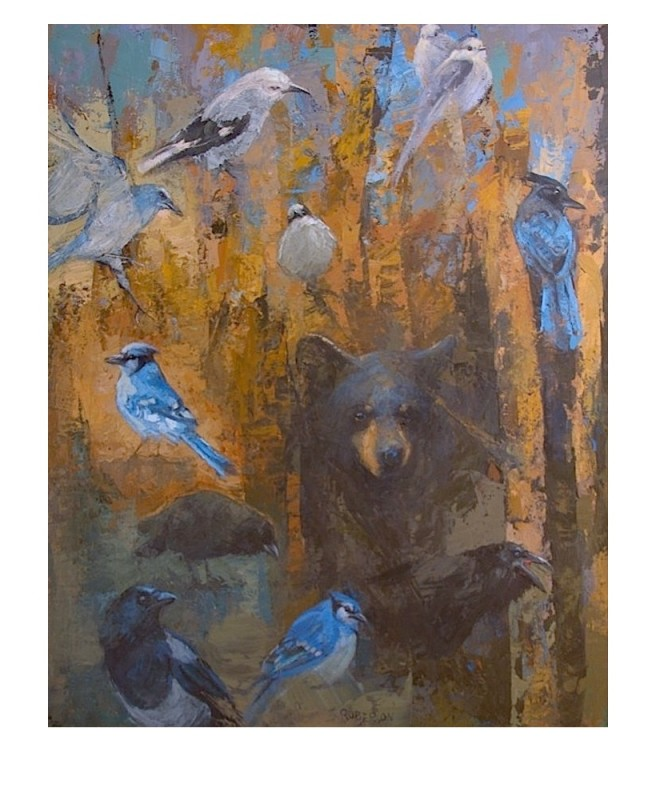 Mary Roberson, Corvids and Cub