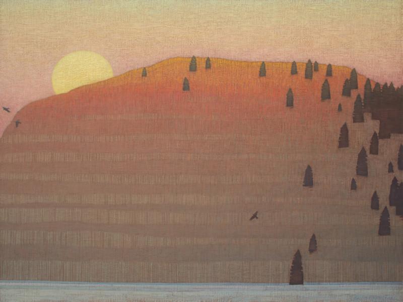 David Grossmann, Rising Winter Moon