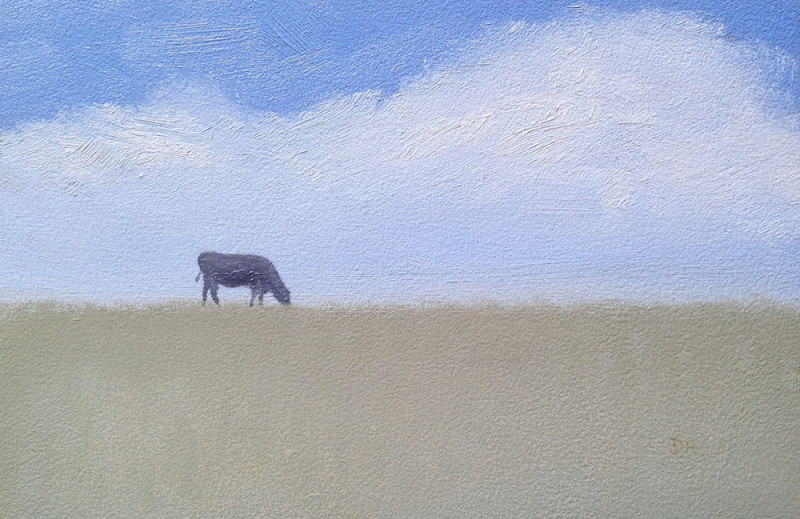 Dave Hall, Just Grazing (Study)
