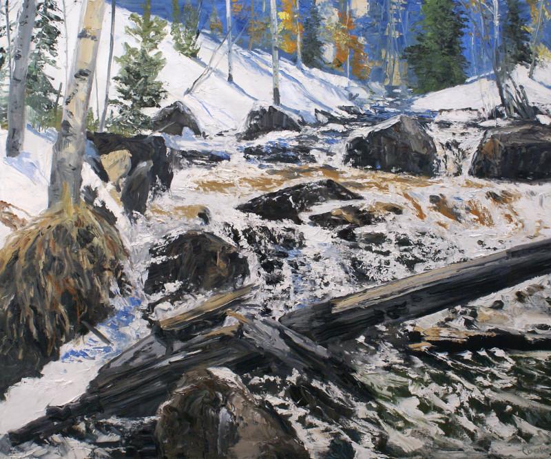 James Pringle Cook, Snow Eater Study #1