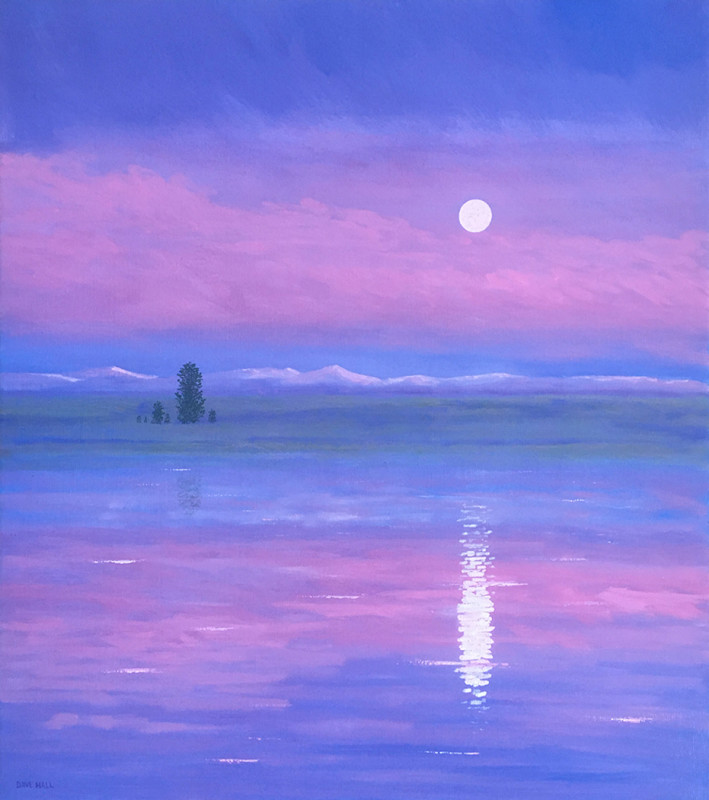 Dave Hall, Henry's Fork Moonrise