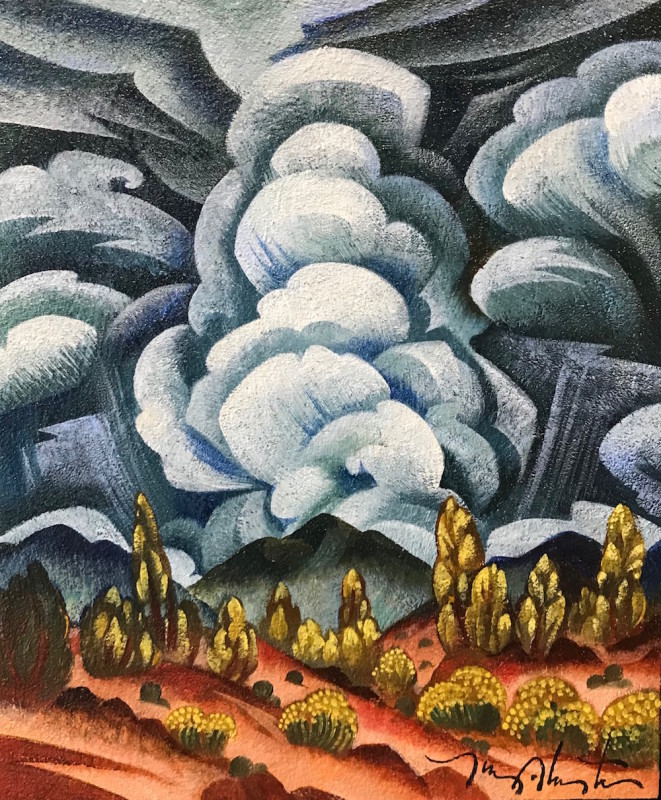 Tony Abeyta, Clouds Casting Shadows, 2019