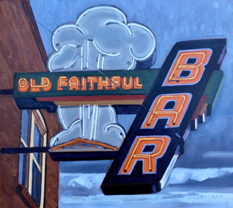Dennis Ziemienski, Old Faithful Bar