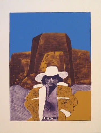 Fritz Scholder, Incognito Artist at Ranchos de Taos #59/75