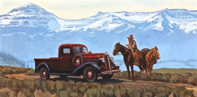 Dennis Ziemienski, Encounter in the Rockies