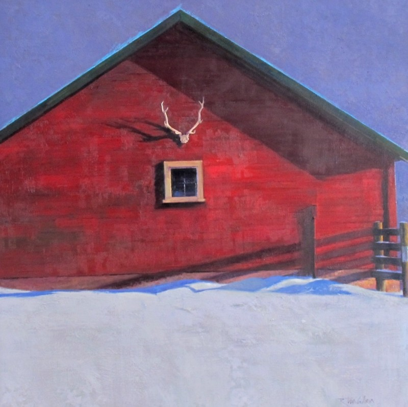 R. Tom Gilleon, Calving Shed