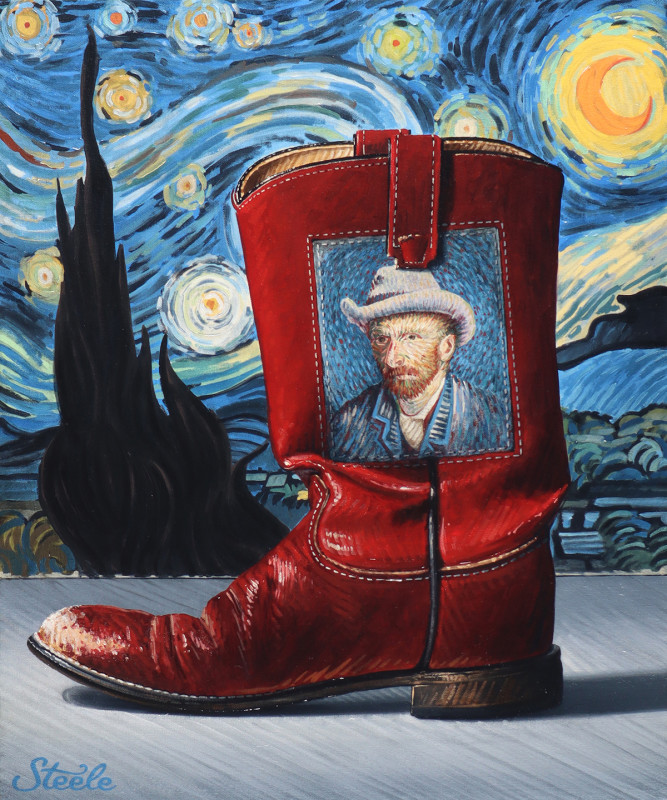 Ben Steele, The Starry Boot