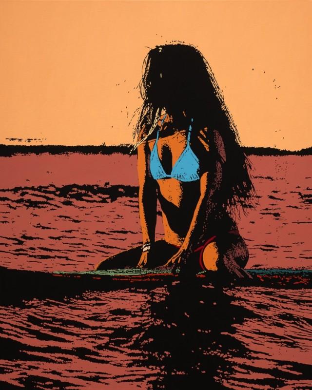 Billy Schenck, Surfer Girl IV