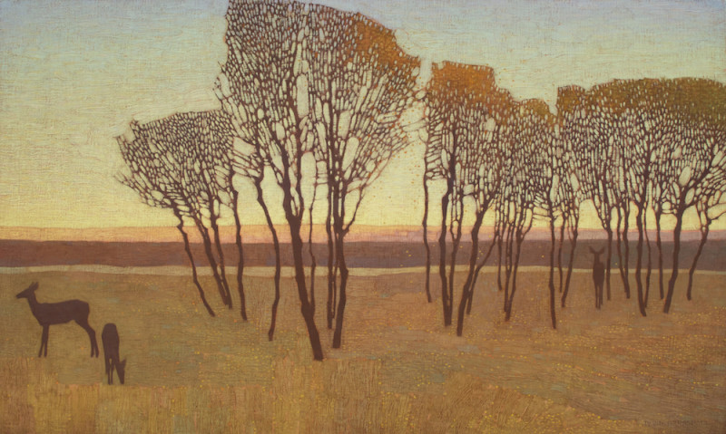 David Grossmann, Autumn Evening Encounters