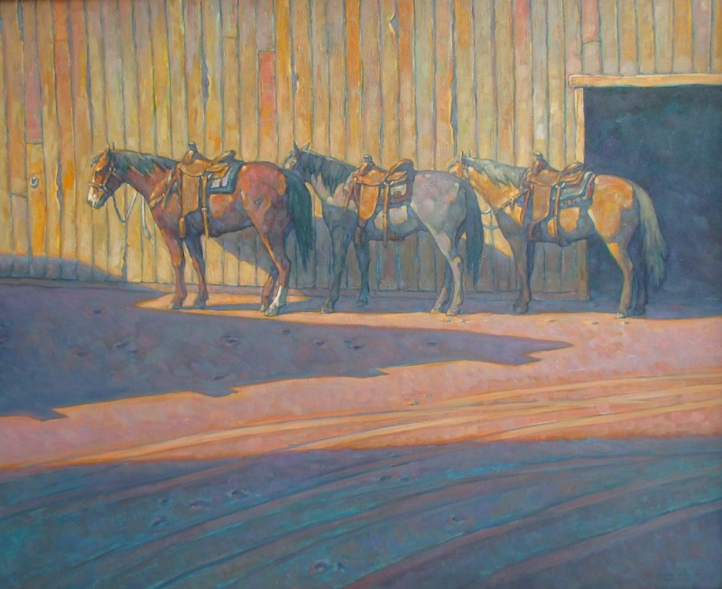 Howard Post, Between Barns