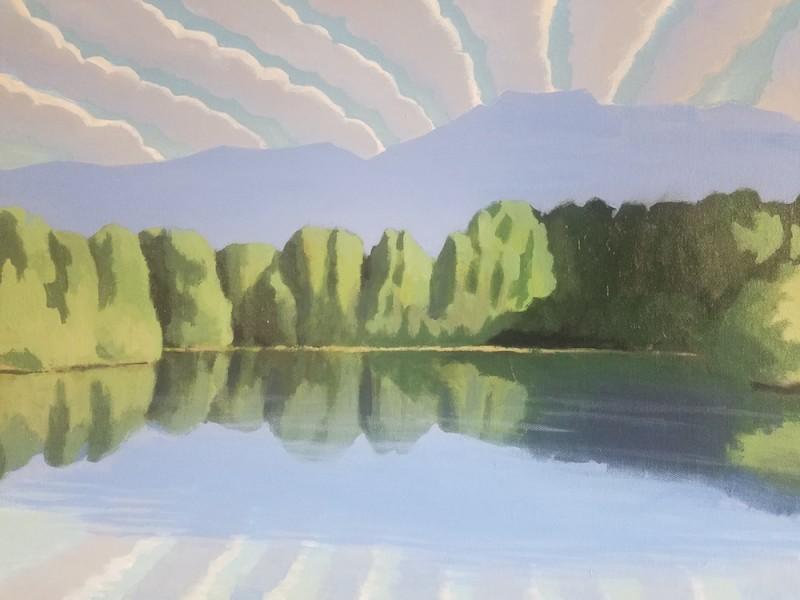 Travis Walker, Swan Pond Clouds