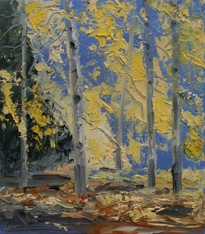 James Pringle Cook, Three Sisters Aspen Study