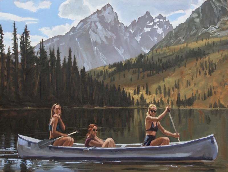 Dennis Ziemienski, On String Lake
