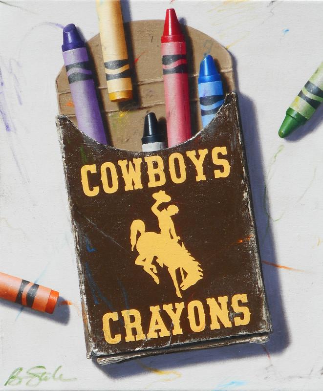 Ben Steele, Wyoming Cowboys