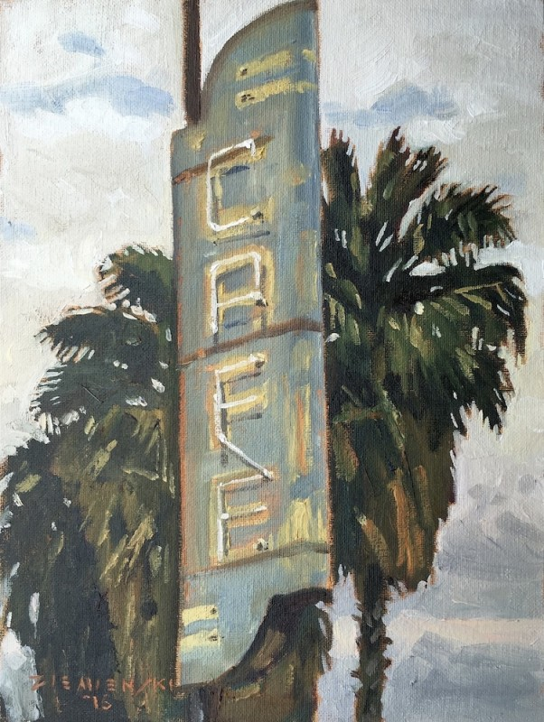 Dennis Ziemienski, Old Cafe in Maricopa
