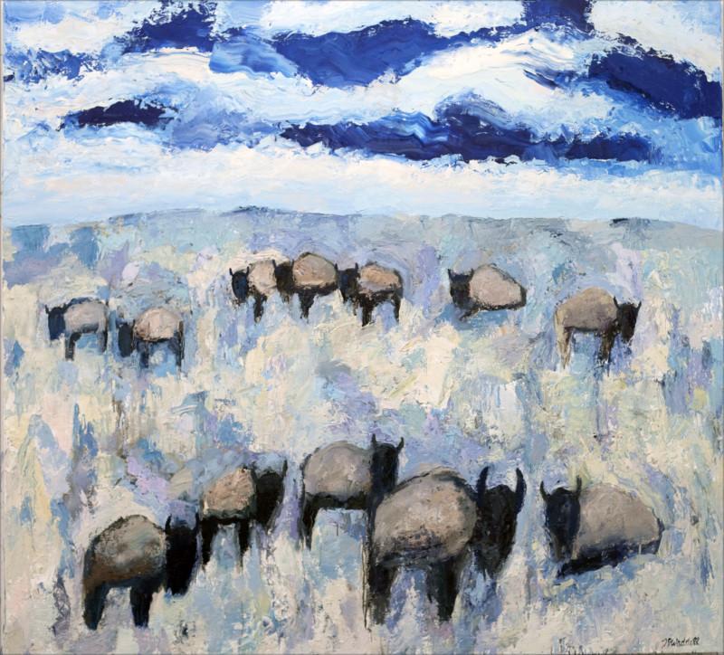 Theodore Waddell, Ruby Valley Buffalo #8