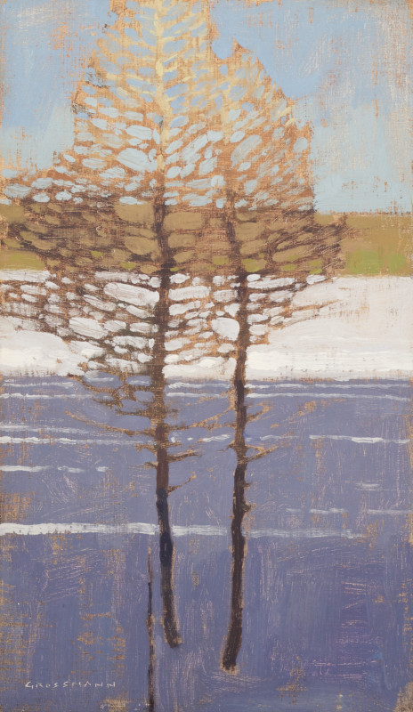 David Grossmann, Lines on Snow