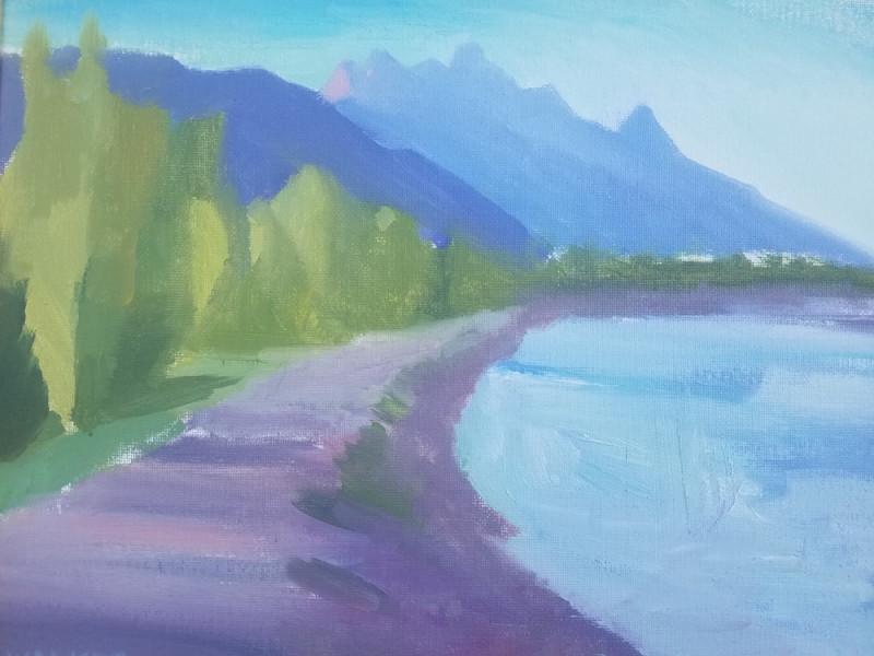Travis Walker, Snake River Evening