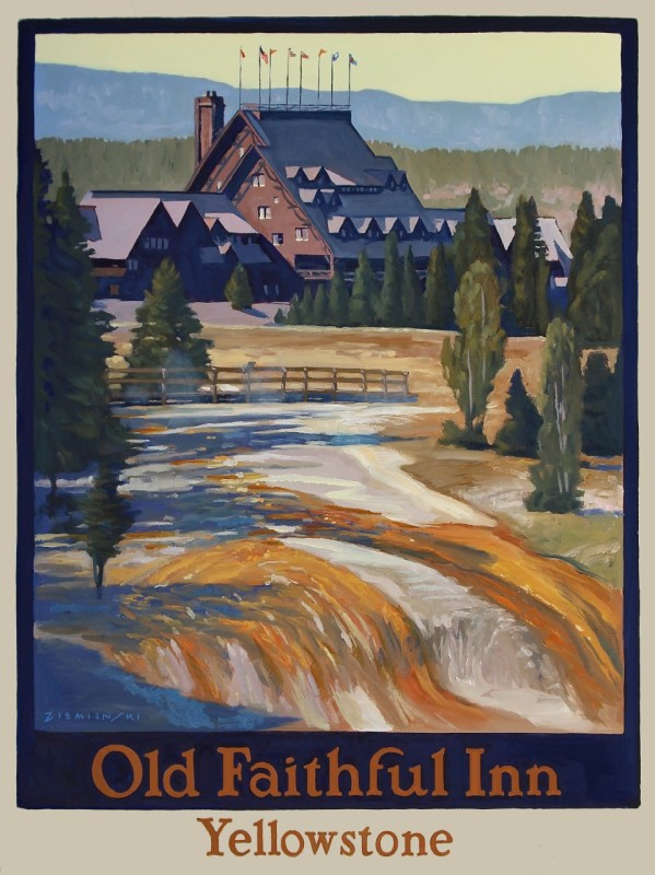 Dennis Ziemienski, Old Faithful Inn